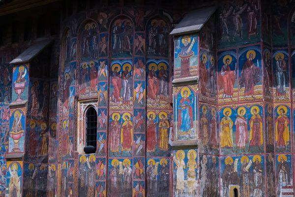 Święci jak malowani – Veronet, Mołdawica.